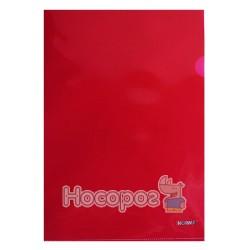 Папка-уголок NORMA 5024 А4 плотная, красная