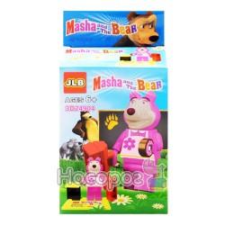 """Конструктор """"Brick"""" """"Маша и Медведь"""" 3D24901-24904"""