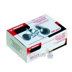 Кнопки NORMA 4837 (100шт) нікель (04110390) (10/500)