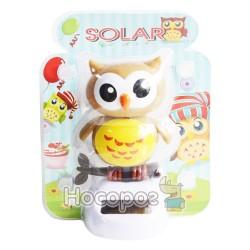Игрушка на солнечной батарее Сова №228-4