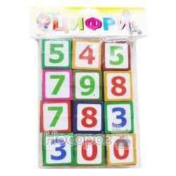 Кубики детские с цифрами Козлов