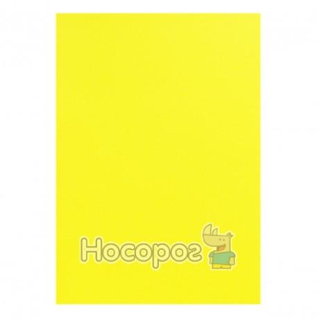 Фото Бумага цветная PROFI А4/80г 100 л. насыщенный лимонный Deep Lemon №210