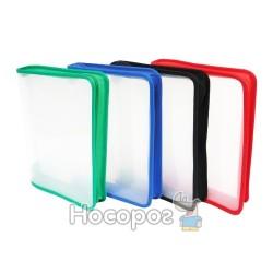 Папка на молнии SOHO ZB02-B5 пластиковая, прозрачная 410826