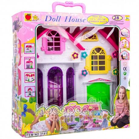 Домик 3141 для кукол (28 дет., мебель, посуда) (6)