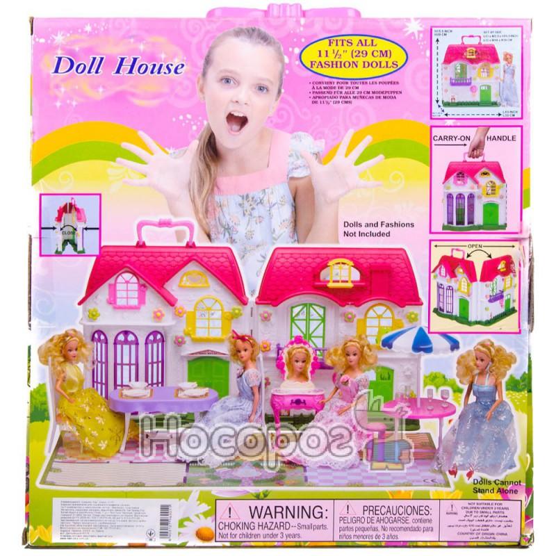 Фото Домик 3141 для кукол (28 дет., мебель, посуда) (6)