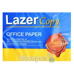 Бумага ксерокс Lazer Copy А4/80 100 л. 151262