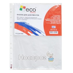 Файли А4 Eco Eagle TY224/100 25мкн., прозорі