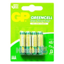 Батарейки GP Greencell 24G-2UE4 Extra Hevy Duty мініпальчик, лужна 4891199000478 (40)