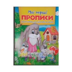 """Мої перші прописи """"Веско"""" (укр.)"""