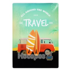 Обложка на паспорт Полимер Travel 307020