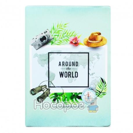 Фото Обкладинка на паспорт Полімер Around the World 307021