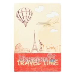 Обложка на паспорт Полимер Travel Time 307022