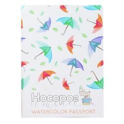 Обкладинка на паспорт Полімер Watercolor 307023