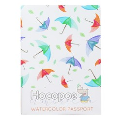 Обложка на паспорт Полимер Watercolor 307023