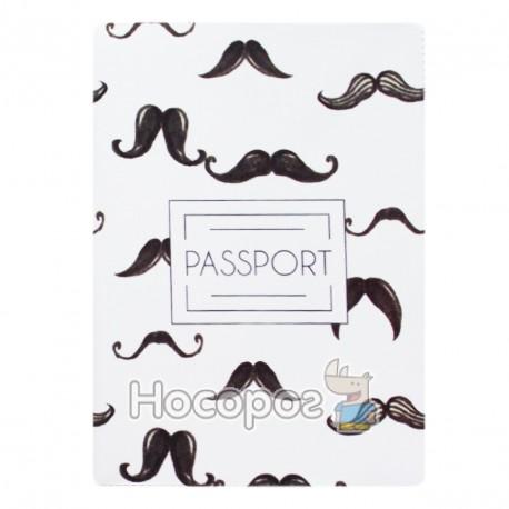 Фото Обкладинка на паспорт Полімер Гусарські вуса 307025