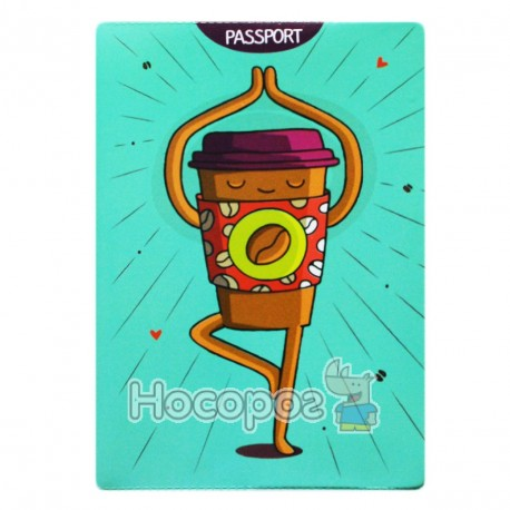 Фото Обкладинка на паспорт Полімер Love to travel 307028
