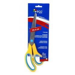 Ножиці офісні Eco Eagle TY810S з нерж.сталі, пласт.ручки, 25,4см