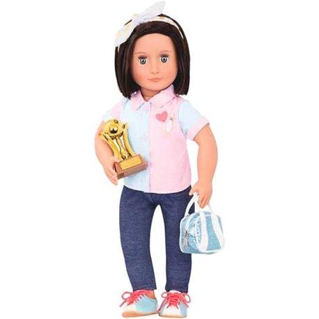 Фото Our Generation Кукла DELUXE - Эверли (46 см)