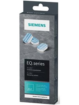 Siemens Таблетки від накипу для кавоварок TZ80002N - 3 шт. в упаковці