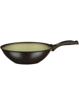 Сковорода ВОК Ardesto Avocado 28 см, зеленый, алюминий [AR2528WA]