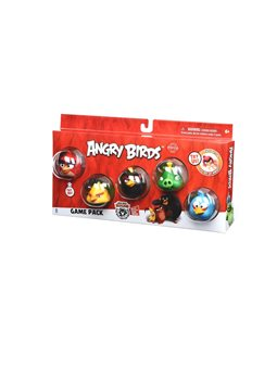 Набор Jazwares Angry Birds ANB Game Pack (Core Characters) [ANB0121]
