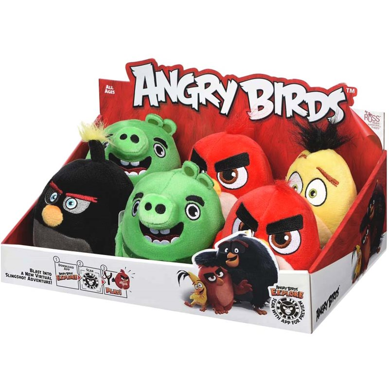 Фото Angry Birds Мягкая игрушка ANB Little Plush Леонард