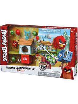 "Набор Jazwares Angry Birds Medium Playset Pig City Build ""n Launch Playset [ANB0015]"