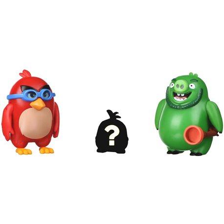 Фото Angry Birds Игровая фигурка ANB Mission Flock Ред и Леонард