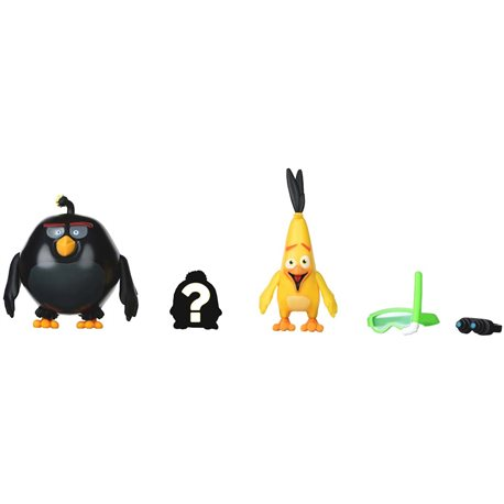 Фото Angry Birds Игровая фигурка ANB Mission Flock Бум и Чак