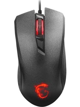 MSI Clutch GM10 Black