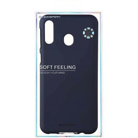 Фото Goospery SF Jelly для Galaxy M20 (M205) [MIDNIGHT BLUE (8809661780748)]