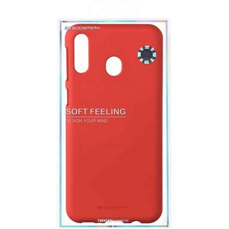 Фото Goospery SF Jelly для Galaxy M20 (M205) [RED (8809661780717)]