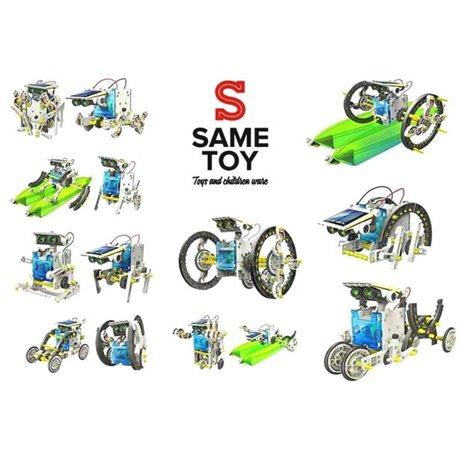 Фото Same Toy Робот-конструктор - Мультибот 14 в 1 на солнечной батарее