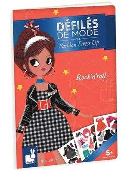 Janod Бумажные куклы - Рок-Н-Ролл