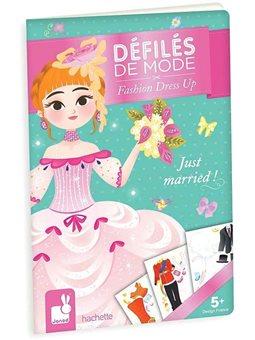 Janod Бумажные куклы - Свадебный наряд