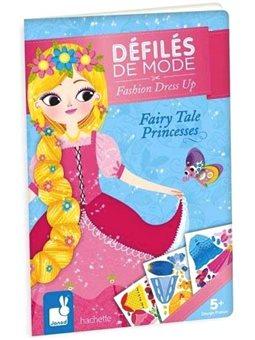 Janod Бумажные куклы - Сказочные принцессы