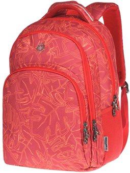 """Рюкзак с отделением для ноутбука Wenger Upload 16 """", (красный с принтом) [606472]"""