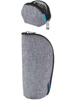 Набор (кошелек, чехол для пустышки) MyMia NV8806GREY серый [NV8806GREY]
