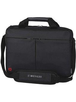 """Сумка для ноутбука, Wenger Format 16 """"Laptop Slimcase, черная [шестьсот одна тысяча шестьдесят два]"""