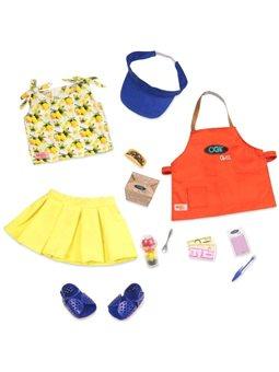 Набор одежды для кукол Our Generation Deluxe Повар-гриль BD30378Z [BD30378Z]