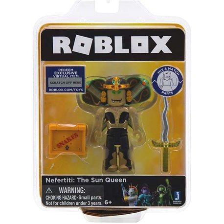 Фото Roblox Игровая коллекционная фигурка Сore Figures Nefertiti: the Sun Queen W3
