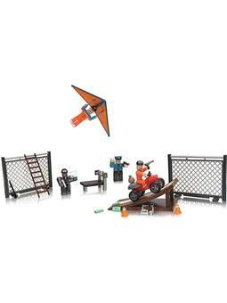 Roblox Игровая коллекционная фигурка Environmental Set Jailbreak: Great Escape W5, набор 4шт