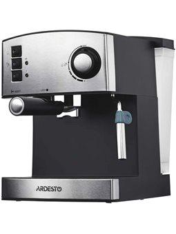 Кофеварка Ardesto YCM-E1600 - эспрессо рожковая / 1.6 л / итал. насос 15 бар / для 2 чашек / панарелло [YCM-E1600]