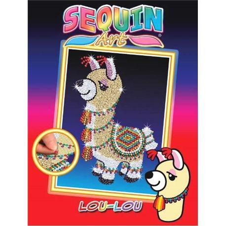 Фото Sequin Art Набор для творчества RED Лама