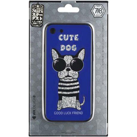 Фото WK WPC-087 для iPhone 7/8 [Cute Dog Blue (681920360827)]