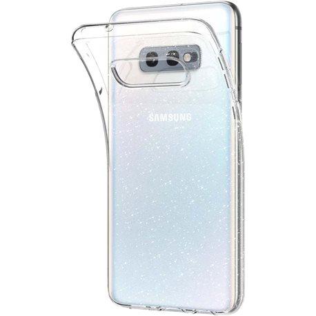 Фото Spigen Liquid Crystal Glitter для Galaxy S10E [Crystal Quartz (609CS25834)]