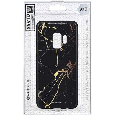 Фото WK WPC-061 для Galaxy S9 [Marble BK / GD (681920360285)]