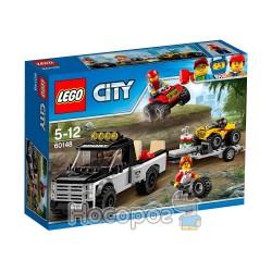 """Конструктор LEGO """"Гоночная команда на вездеходе"""" 60148"""