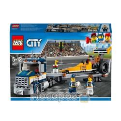 """Конструктор LEGO """"Транспортировка гоночного автомобиля"""" 60151"""