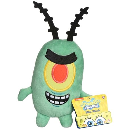 Фото Sponge Bob Mini Plush Plankton